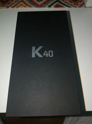 LG K40 Blue. Sin estrenar.