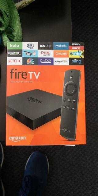 Amazon Fire TV 4K Ultra box Android