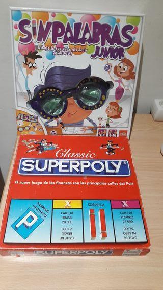 juegos super molopoly y sin palabras junior