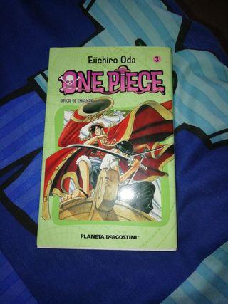 manga one Piece 3 difícil de engañar