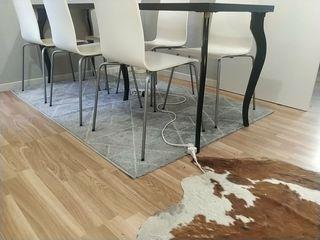 Bonita alfombra estilo nórdico 189x135cm