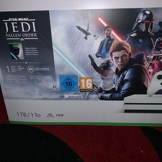 XBOX ONE S 1TB Star Wars Jedi DELUXE EDITION