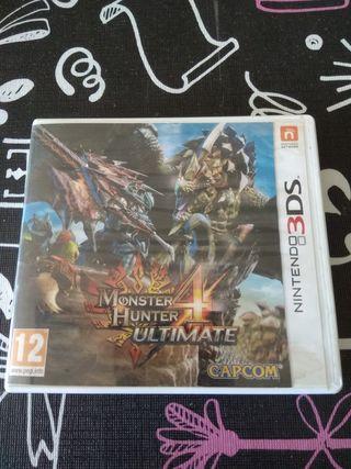 Monster hunter 4 ultimate. Nintendo 3ds
