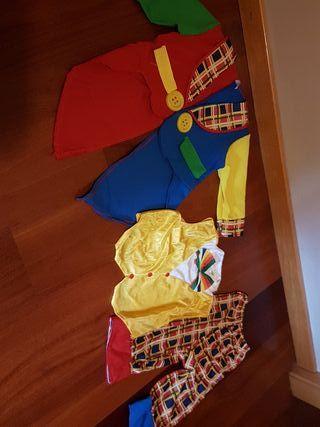 Disfraz de payaso talla 2 - 4 años