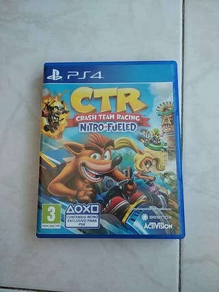 CTR Crash Nitro Fueled PS4