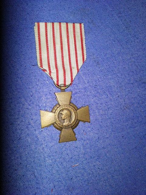 medallas francesas primera guerra mundial