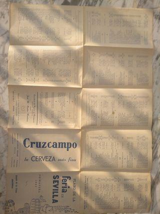 plano feria Sevilla 1986