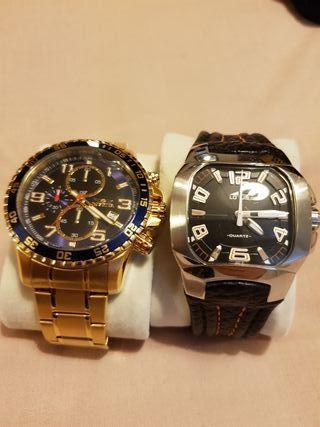 Reloj Invicta y Reloj Lotus