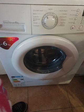 lavadora lg de 6 kg