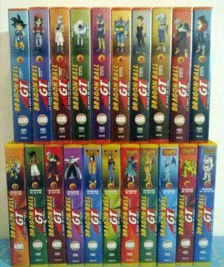 colección Dragon Ball GT VHS en buen estado