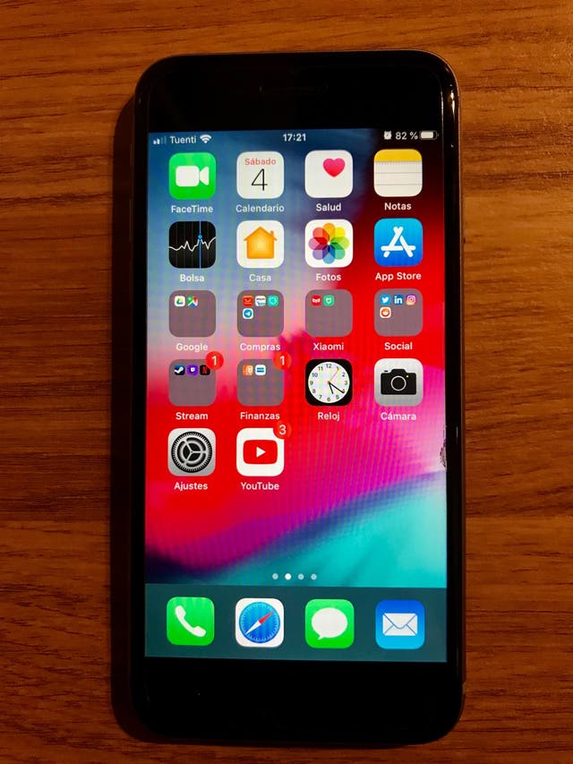Iphone 6s 16gb negro