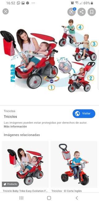 triciclo valorado en 180 euros