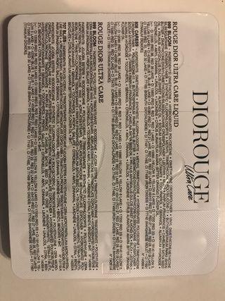 Dior Rouge Ultra Care pintalabios