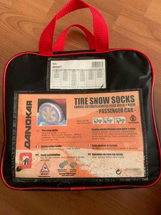 Cadenas de nieve y hielo (textil)