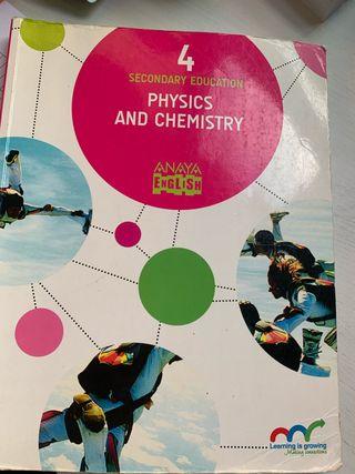 libro de texto física y quimica 4 de la eso
