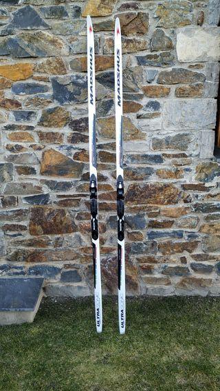 esquís fondo Madshus ultrasonic intelligrip 205