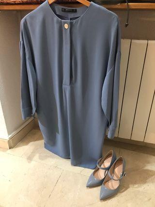 Vestido corto zara talla xs