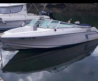 barca Faeton con remolque