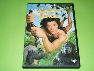 GEORGE DE LA JUNGLA -DVD DISNEY-