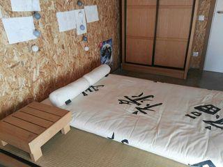 cama futón japonesa