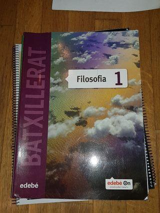 Libro de Texto Filosofía editorial edebé