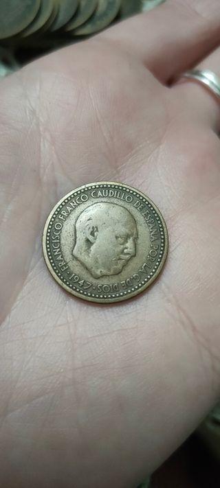 Moneda Francisco Franco 1947