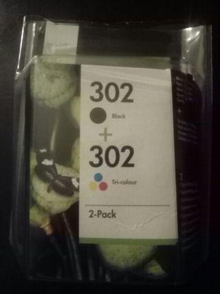 tinta 302 impresora HP