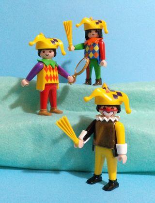 Arlequin y payaso playmobil