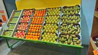 mueble expositor de fruta