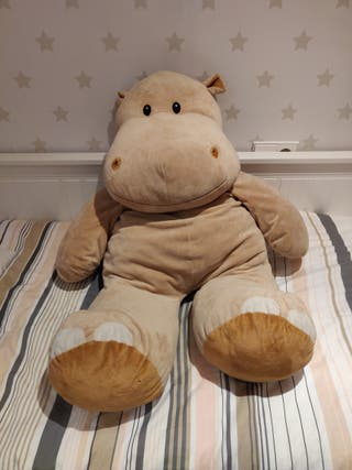 hipopótamo grande peluche
