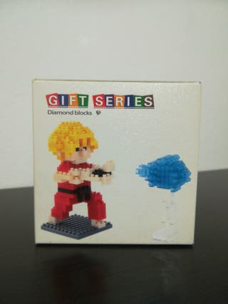 Figura montaje de Ken de Street Fighter
