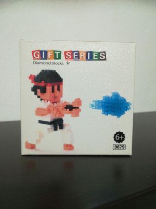 Figura bloques de montaje Ryu de Street Fighter