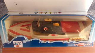 juguete Canoa de policia