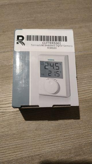 Termostato Ambiente Digital Siemens RDH 100