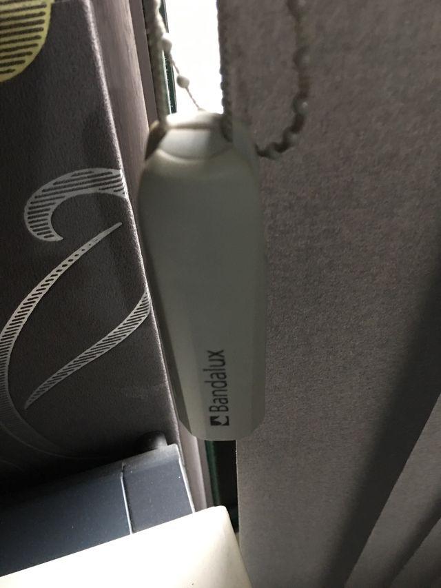 Cortinas verticales Bandalux grises