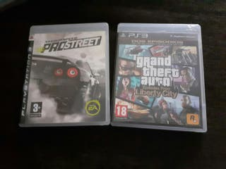 gta liberty city y need for spped pro