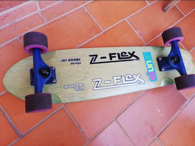 Skate Long Cruiser z-flex jay adams