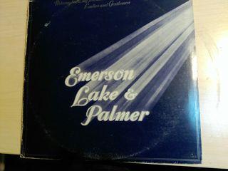 VINILOS TRIPLE LP EMERSON LAKE & PALMER - WELCOME
