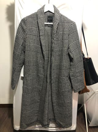 Checked Coat from New Look