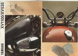 CATALOGO MOTO YAMAHA XV1100 / XV535