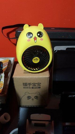 calefactor de aire caliente infantil