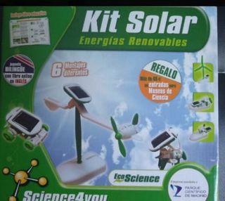 juego kit solar