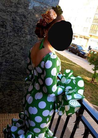 Vestido traje de flamenca talla 36