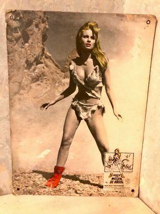 Raquel Welch cartel original cine
