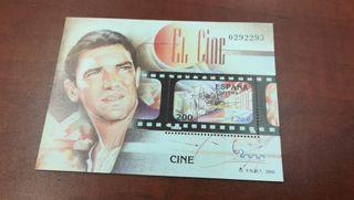 Sello de Antonio Banderas. el Cine