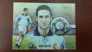 sello de Raúl del Real Madrid