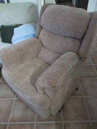 Sillón relax reclinable y elevable autonatico