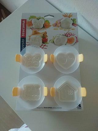 moldes para huevos tescoma