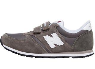 New Balance Kids 420 Velcro Trainers Grey/Black
