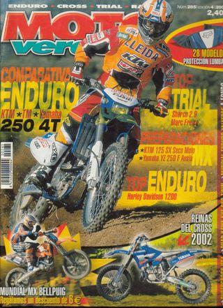 REVISTA MOTO VERDE Nº 285 - Año 2002